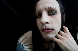 This is what my makeup looked like in middle school!