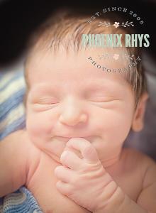 newborn smiling - Tyler TX photographer