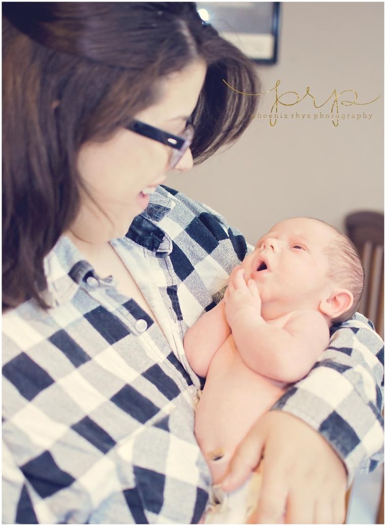 newborn baby and mom tyler tx